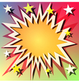 explosion background vector image
