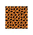 jaguar skin icon design template vector image