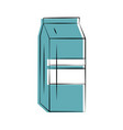 milk carton icon image vector image vector image
