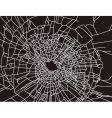 Shattered glass texture vector image