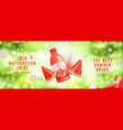 advertisement with iced watermelon juice vector image vector image