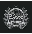 Barrel beer vector image vector image