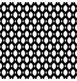 black white seamless pattern mesh lattice vector image