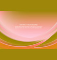 colorful background with wave - brochure design vector image vector image