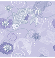 Koi carp background vector image vector image