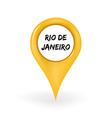 Location Rio vector image