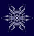 Tatto shuriken vector image