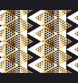 triangle shape geometric african tribal seamless vector image