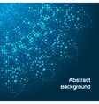 Abstract background with dots vector image vector image