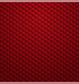 background composition of red cubes vector image