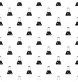 chemical flask pattern vector image vector image