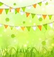 Holiday Background for St Patrick Day vector image vector image
