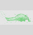 splash of water vector image vector image