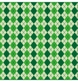 textile pattern green decoration icon vector image vector image