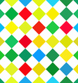 Abstract colorful retro squares seamless vector image