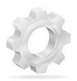 gear 05 vector image vector image