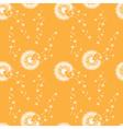 seamless pattern of dandelions vector image