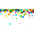 Background with bubbles vector image