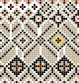 balkan pattern vector image