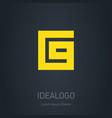 c9 logo c and 9 - monogram or logotype design vector image