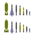 Air bombs vector image