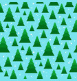christmas seamless pattern with geometrical vector image