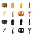 pub and bar icon vector image vector image
