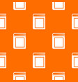 thick book pattern seamless vector image vector image