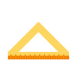 triangle ruler icon image vector image vector image