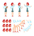 Attractive doctor funny character design cartoon