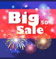beautiful super big sale vector image