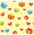 decorative background for holiday vector image vector image