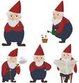 Garden gnomes vector image vector image