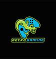 gecko gaming e sport vector image