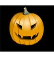 Halloween jack o lantern vector image vector image