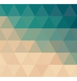 triangular background 2 vector image vector image