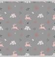 Cute christmas seamless pattern