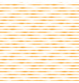 orange yellow hand drawn horizontal stripes vector image vector image