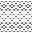 seamless geometric pattern black white figures vector image vector image