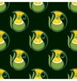 Seamless pattern of olive oil in jugs vector image vector image