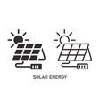 solar energy icon on white background