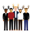 stag do group vector image