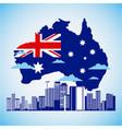 australia day celebration vector image