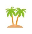 Beach summer vacations vector image