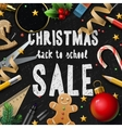 Christmas school sale vector image vector image
