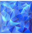 crystal blue and gold lattice background vector image vector image
