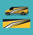graphic abstract racing designs for vehicle vector image vector image