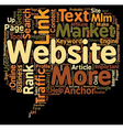 Keys To Get Website Traffic For Your MLM Business vector image vector image
