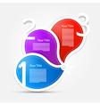 Progress Steps for Tutorial Infographics Purple vector image vector image