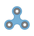 spinner fidget icon isolated on white background vector image